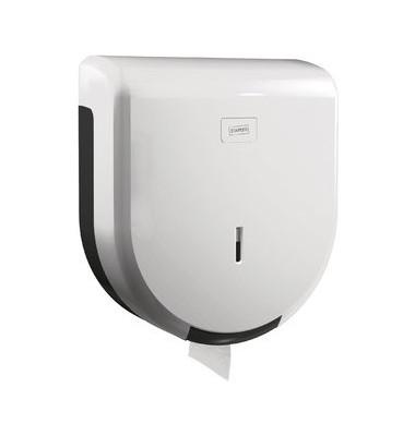 Toilettenpapierspender Jumbo weiß 29x32x12 cm 400m