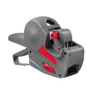 Preisauszeichner COMPACT 826 grau/rot 1-zeilig 8-stellig