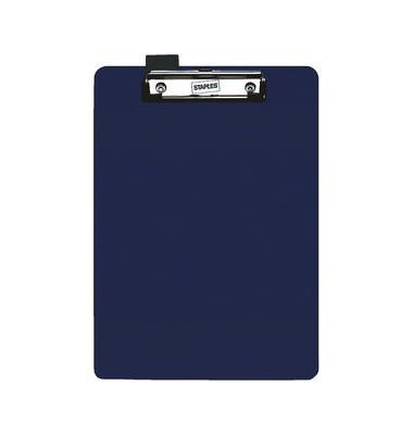 Klemmbrett 5660054 A4 blau Kunststoff mit Aufhängeöse