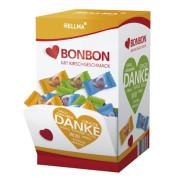 """Herz-Bonbons Kirschgeschmack mit """"DANKE"""" Aufdruck 3,4g"""