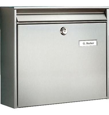 Briefkasten Borkum/3877Ni B362 x H322 x T100 mm edelstahl