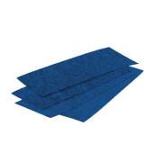 Löschpapier für Tafelwischer blau 100 Blatt
