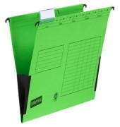Hängetasche RC-Karton grün A4 230g 10 Stück