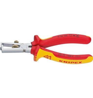 VDE-Abisolierzange/1106160 160 mm VDE isoliert