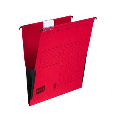 Hängetasche RC-Karton rot A4 230g 10 Stück