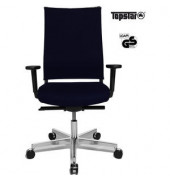 Bürodrehstuhl T400 Objekt schwarz inkl. AL