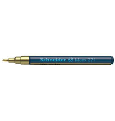 Lackmarker Maxx 271 gold 1-2mm Rundspitze