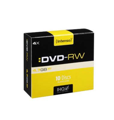 DVD-RW wieder beschreibbar 10er Pack