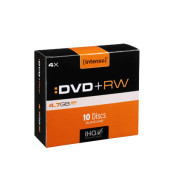 DVD+RW 10er Pack Sc 4,7 Gb 4X