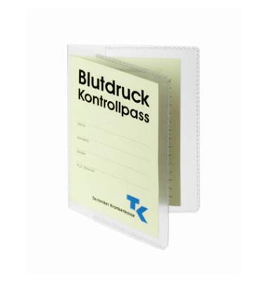 Ausweishüllen geeignet für Behandlungsausweis mit Termin- und Verordnungsplan sowie Dokumente im Doppel- A7 Format