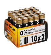 Batterie X-Power Micro / LR03 / AAA 20 Stück
