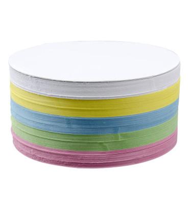 Moderationskarten Kreise Ø 19cm farbig sortiert 500 Stück