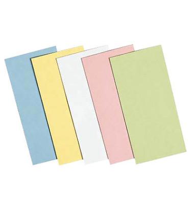 Moderationskarten Rechtecke farbig sortiert 20x10cm 500 Stück