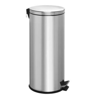 Tretabfalleimer 30 Liter Edelstahl