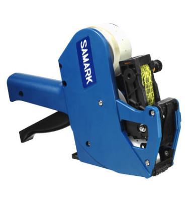 Preisauszeichner SAMARK SP blau 1-zeilig 6-stellig