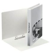 Präsentations-Ringbuch 49738 A4 weiß 2-Ring Ø 20mm