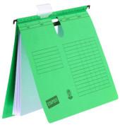 Hängehefter A4 230g Karton grün kaufmännische Heftung 10 Stück