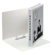 Präsentations-Ringbuch 49739 A4 weiß 2-Ring Ø 40mm