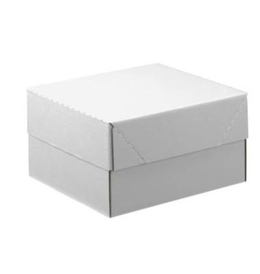 Versandkarton 1-wellig 310x220x160 mm weiß 20 Stück