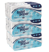 Toilettenpapier 035204 Supersoft 3-lagig 72 Rollen