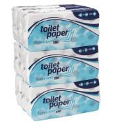 Toilettenpapier 039810 Supersoft 3-lagig 72 Rollen