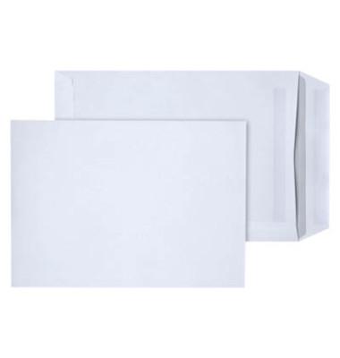 Versandtaschen C5 ohne Fenster selbstklebend 90g weiß 250 Stück