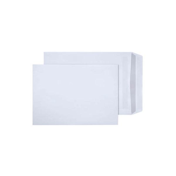 mailmedia versandtaschen b4 ohne fenster selbstklebend 100g wei 250 st ck. Black Bedroom Furniture Sets. Home Design Ideas
