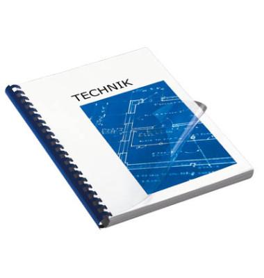 Umschlagfolien 20150094 A4 PVC 0,15 mm transparent klar 100 Stück
