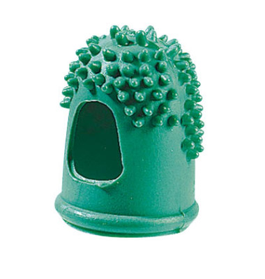 Blattwender Größe 4 grün Ø 2,3 cm mit Gumminoppen