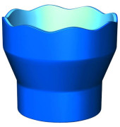Wasserbecher CLICK & GO blau