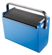 Hängemappenbox H61101 blau bis 25 Mappen leer stapelbar