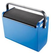 Hängemappenbox H61100-92 schwarz-blau 192x397x303mm