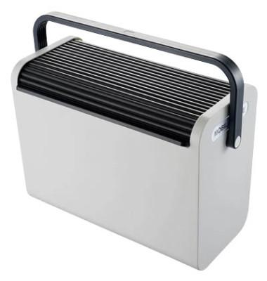 Hängemappenbox schwarz-lichtgrau