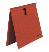 Hängehefter UniReg A4 230g Karton rot kaufmännische Heftung 25 Stück