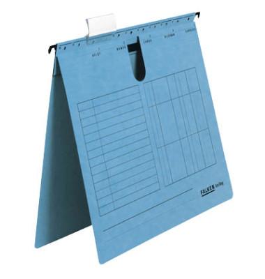 Hängehefter UniReg A4 230g Karton blau kaufmännische Heftung 25 Stück