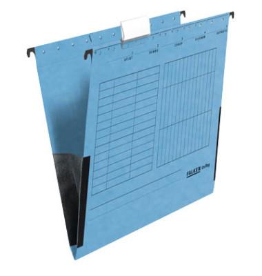 Hängetaschen UniReg A4 blau 230g seitliche Frösche 80002561
