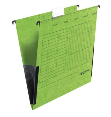 Hängetaschen UniReg A4 grün 230g seitliche Frösche 80004435