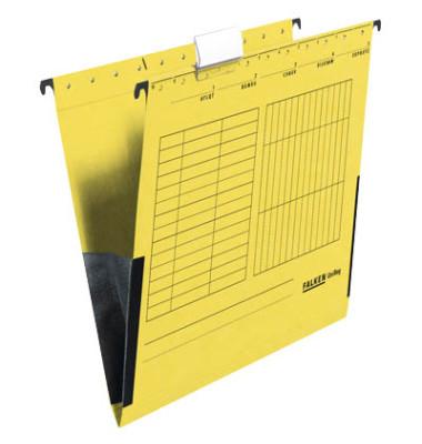 Hängetaschen UniReg A4 gelb 230g seitliche Frösche 80002660