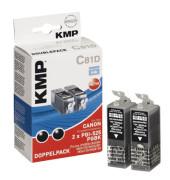 Tinten schwarz ersetzt Canon PGI-525BK Twinpack