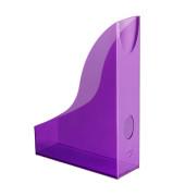 Stehsammler BASIC purpur  A4 Polystyrol