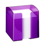 Zettelbox purpur