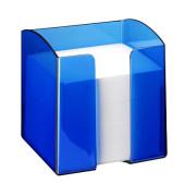 Zettelbox blau