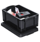 Aufbewahrungsbox 9BK schwarz 9 Liter 255 x 155 x 395mm