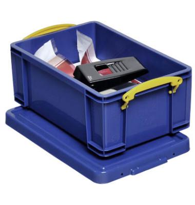 Aufbewahrungsbox 9B blau 9 Liter 255 x 155 x 395mm