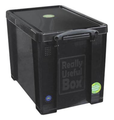 Transportbox schwarz 19 l 255 x 290 x 395mm