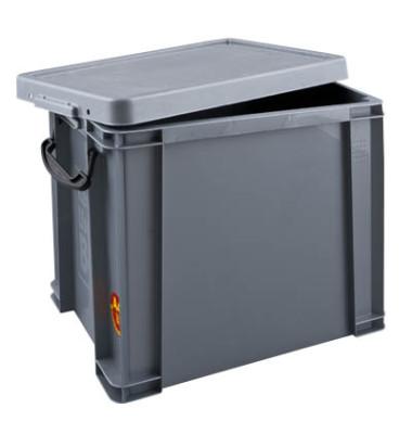 Aufbewahrungsbox 19S silber 19 Liter 255 x 290 x 395mm