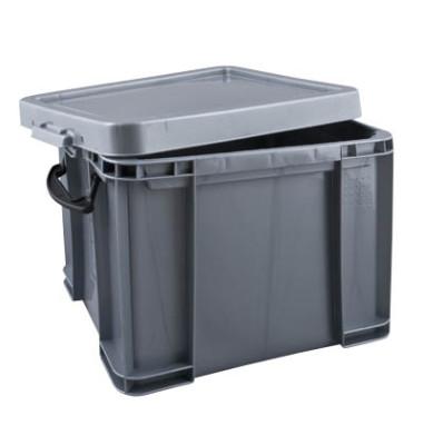 Aufbewahrungsbox 35SCB silber 35 Liter 390 x 310 x 480mm