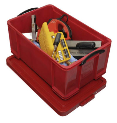 Aufbewahrungsbox 64RCB rot 64 Liter 440 x 310 x 710mm