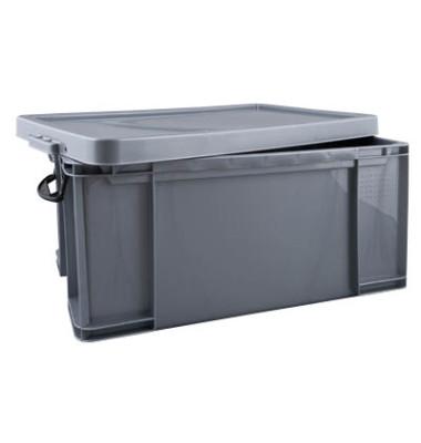 Aufbewahrungsbox 64SCB silber 64 Liter 440 x 310 x 710mm