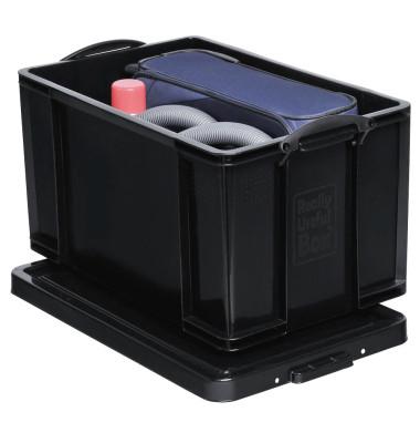Aufbewahrungsbox 84BKCB schwarz 84 Liter 440 x 380 x 710mm